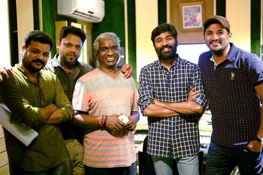 Dhanush lends his voice to Vijay Yesudass