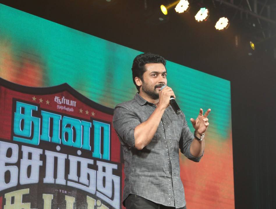 Suriya breaks the stereotypes in film industry