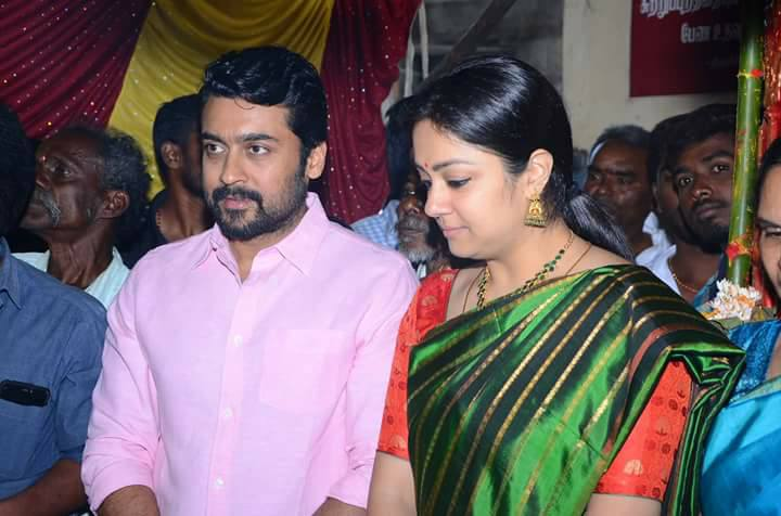 Suriya and Jyothika Family pictures.