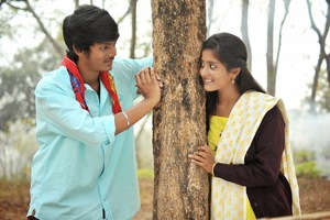 Andhra Pori Telugu Movie New Stills Starring Aakash, Ulka Gupta