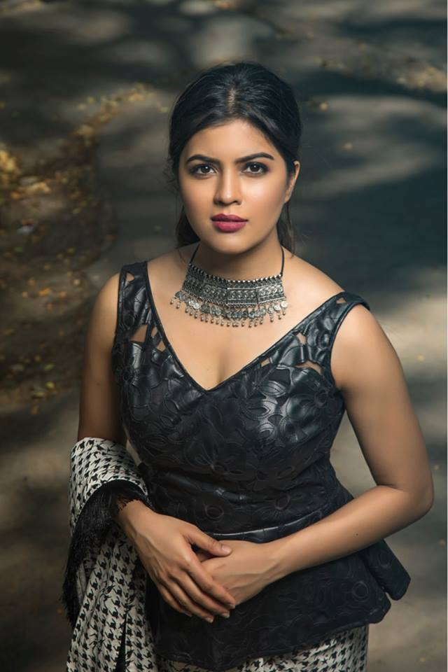 Actress Amritha Aiyer Stills.