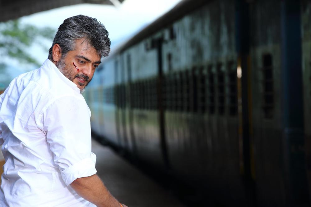 thala ajith mass stills in veeram wwwpixsharkcom