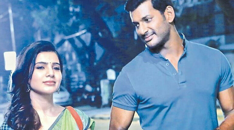 Vishal's Irumbu Thirai becomes talk of the town because