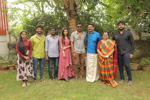 Adutha Sattai New Movie Pooja Stills.