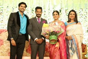 Chandini Tamilarasan Wedding Images.