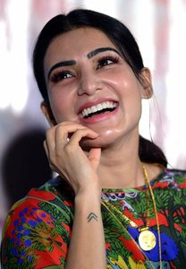 Samantha at Majili Success Meet