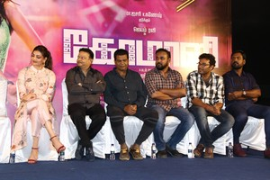 Comali Press Meet Stills.