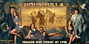 Housefull 4 Posters.