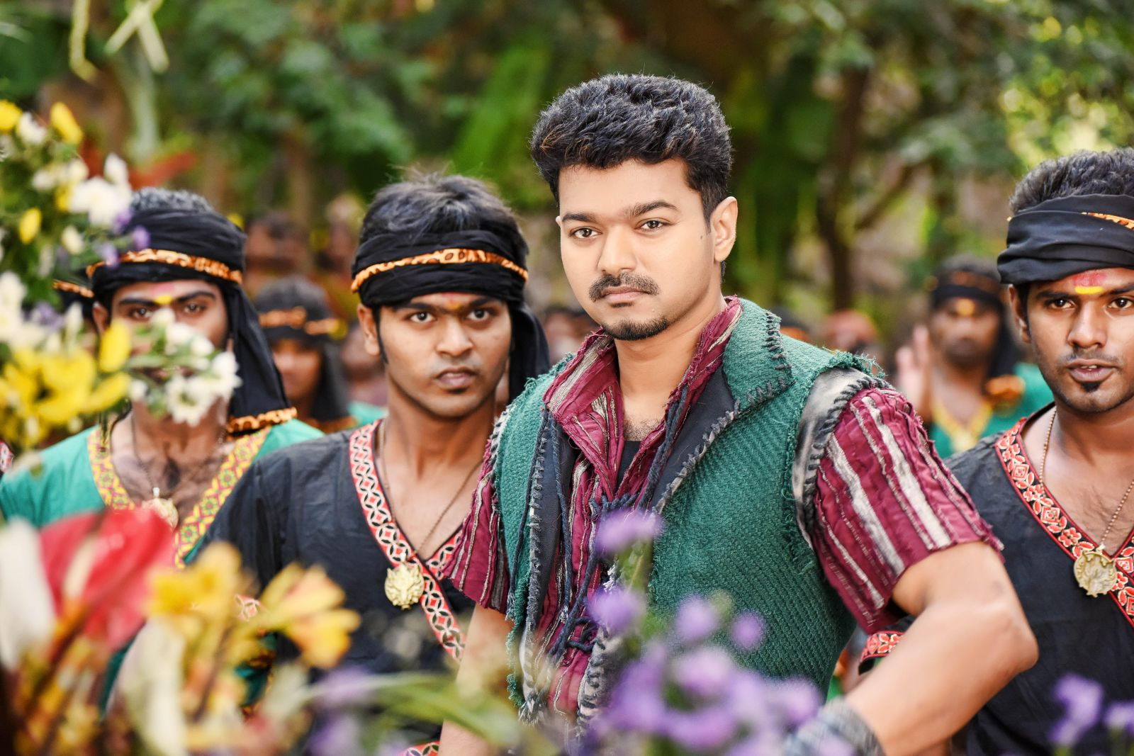 Puli tamil movie latest stills vijay hansika actor vijay stills from puli movie altavistaventures Choice Image