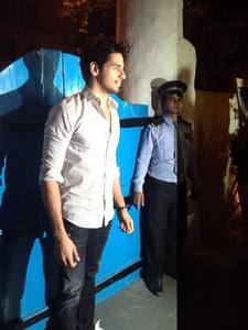 Sidharth Malhotra at Baar Baar Dekho wrap up party