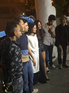 Baar Baar Dekho movie wrap up party