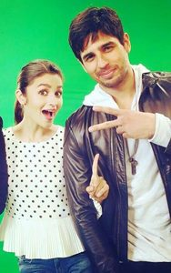 Sidharth Malhotra & Alia Bhatt in Kapoor and Sons